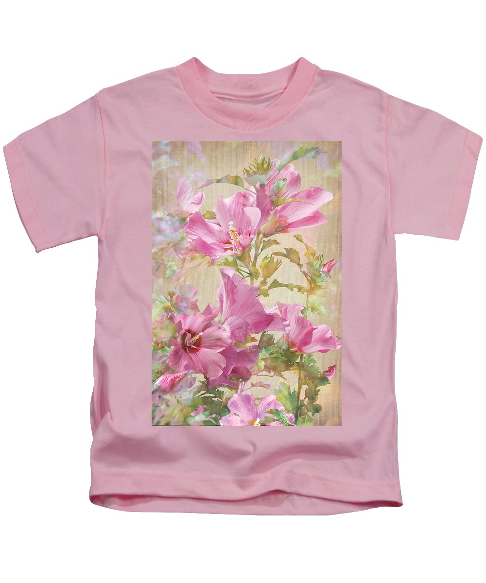 Hibiscus Kids T-Shirt featuring the photograph Hibiscus Impression by Robert Masheris