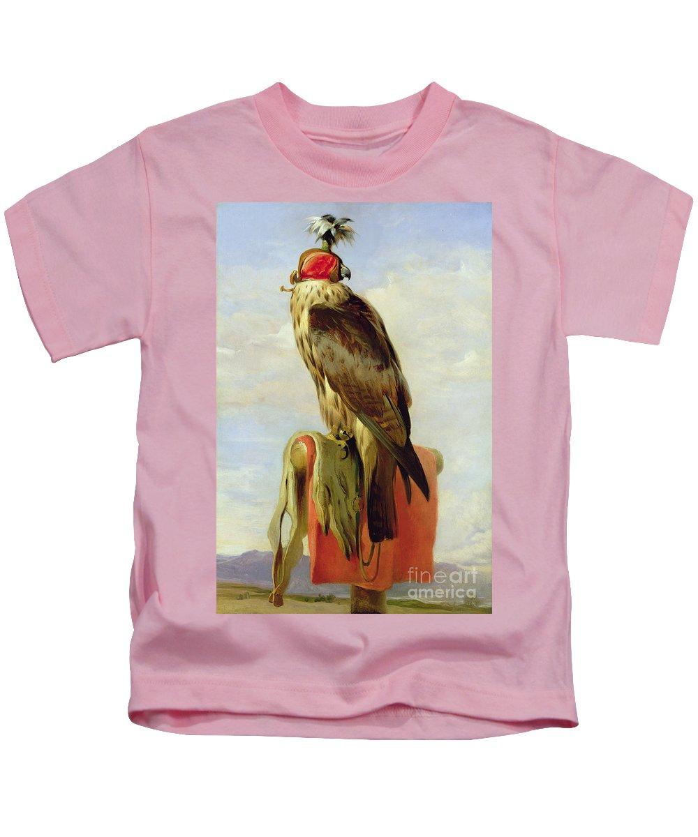 Hooded Falcon Kids T-Shirt