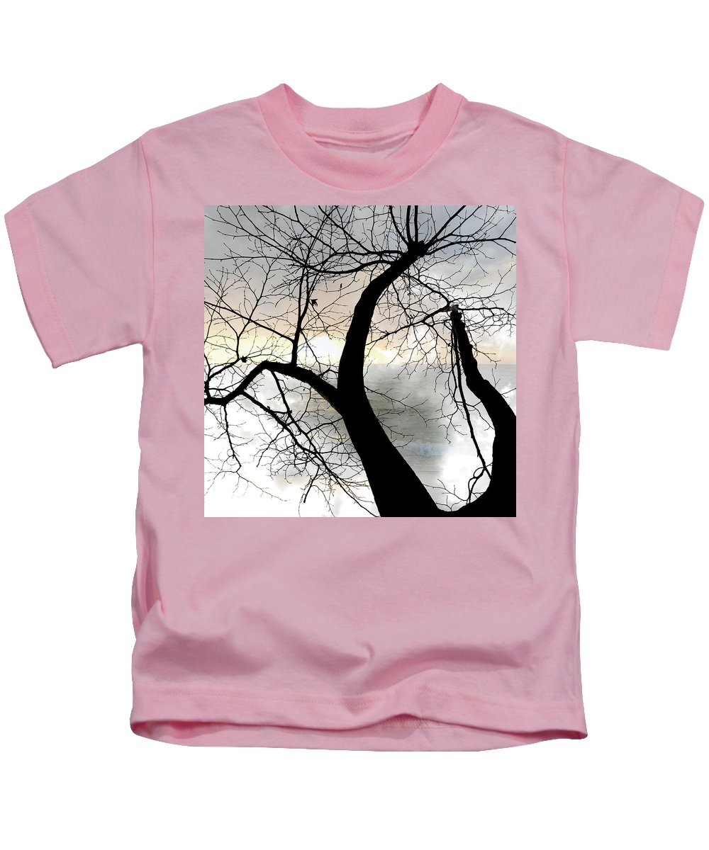 Tree Kids T-Shirt featuring the photograph Hope by Munir Alawi