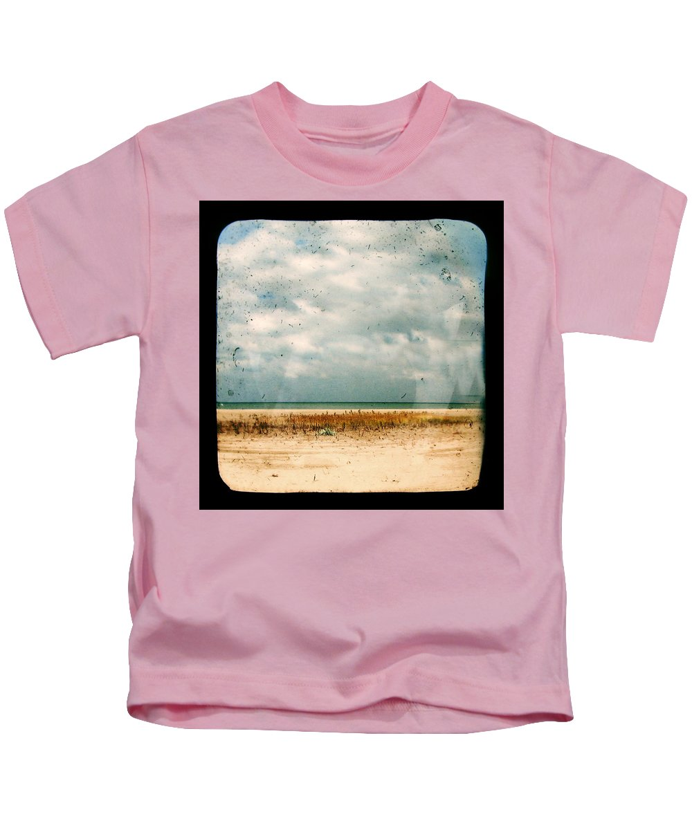 Dipasquale Kids T-Shirt featuring the photograph I Honestly Believed by Dana DiPasquale