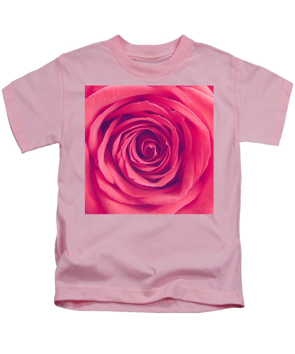 Rose Kids T-Shirt featuring the photograph Illusion by Iryna Goodall