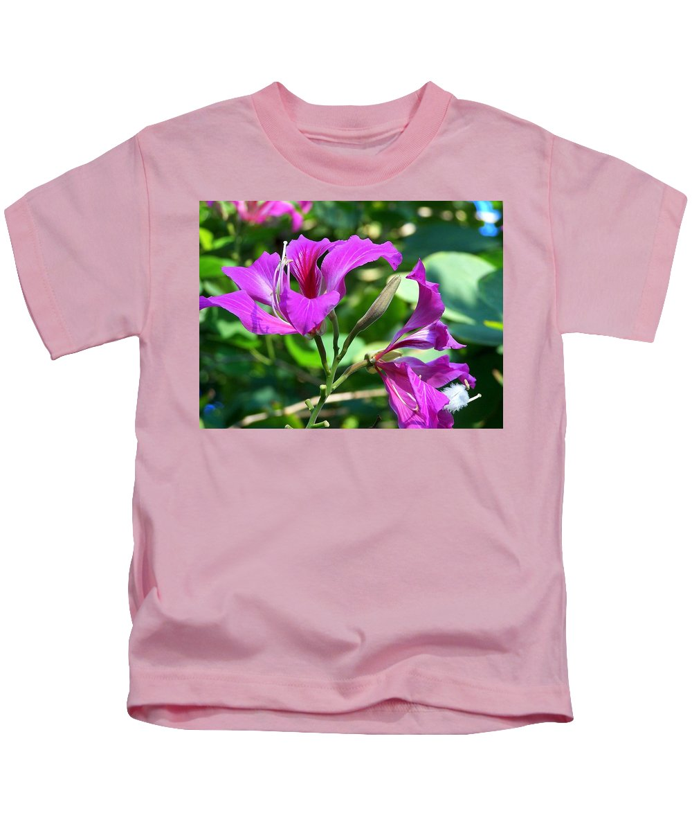 Flower Kids T-Shirt featuring the photograph Jamaican Bloom Photograph  by Kimberly Walker