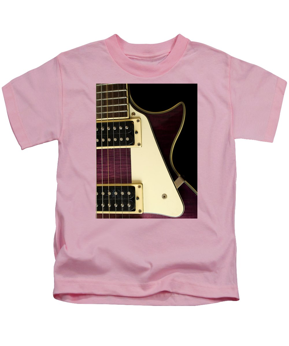 Jay Turser Kids T-Shirt featuring the photograph Jay Turser Guitar 7 by Dorothy Lee