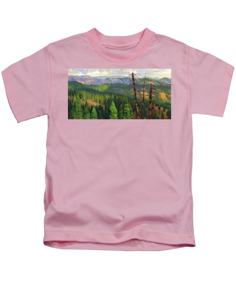 Rural Areas Kids T-Shirts