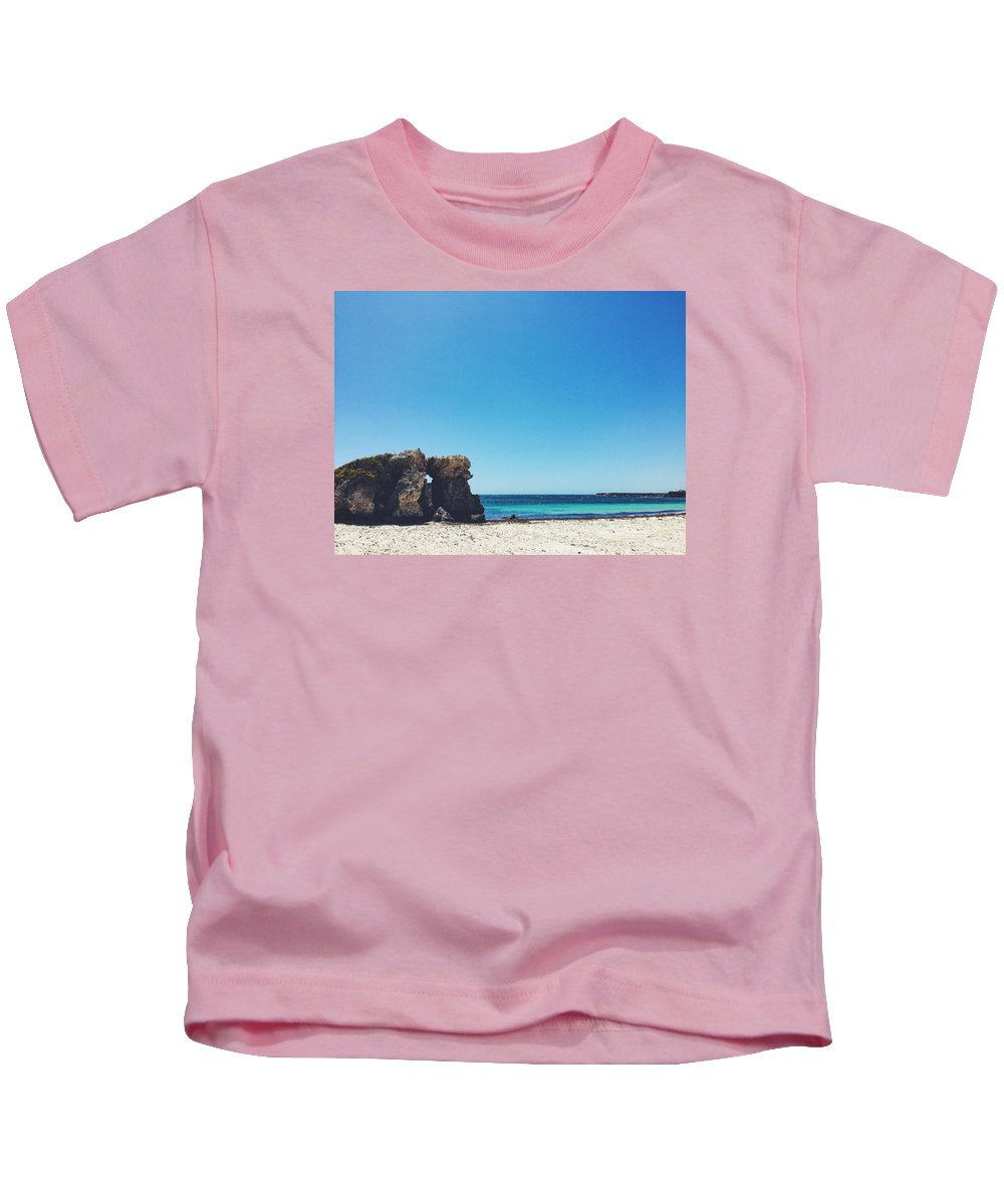 Beach Kids T-Shirt featuring the photograph Leisure Pt. 2 by David Tang