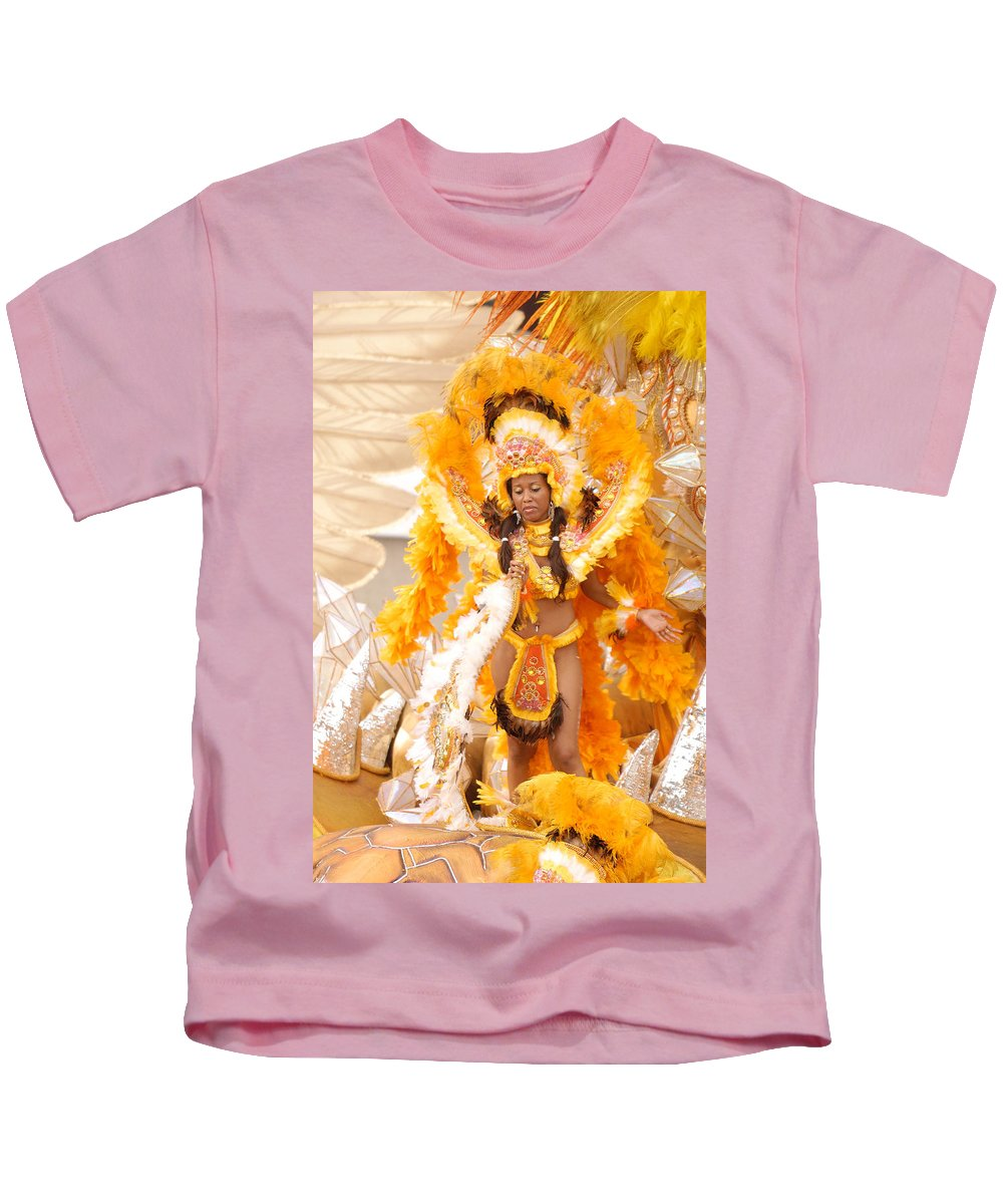 Brazil Kids T-Shirt featuring the photograph Lets Samba by Sebastian Musial