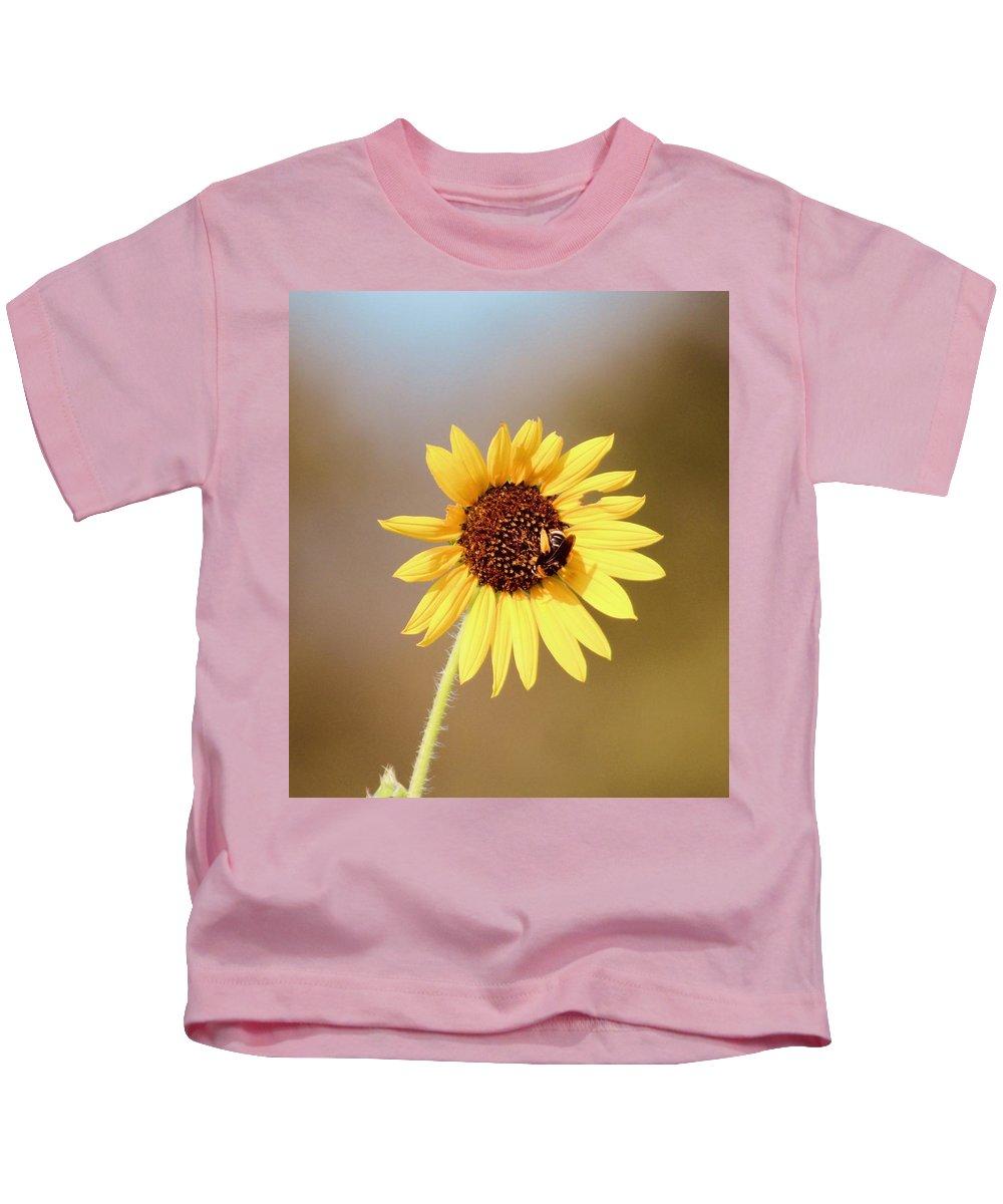 Farm Kids T-Shirt featuring the photograph Little Bumble Bee by Suzette Munson