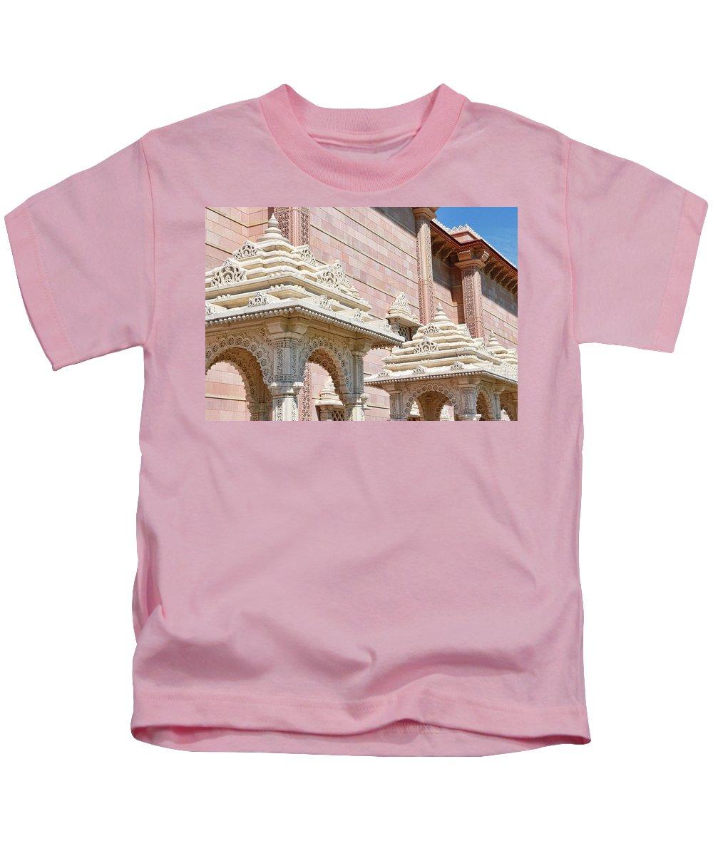 Religion Kids T-Shirt featuring the photograph Mandir # 1 by Allen Beatty
