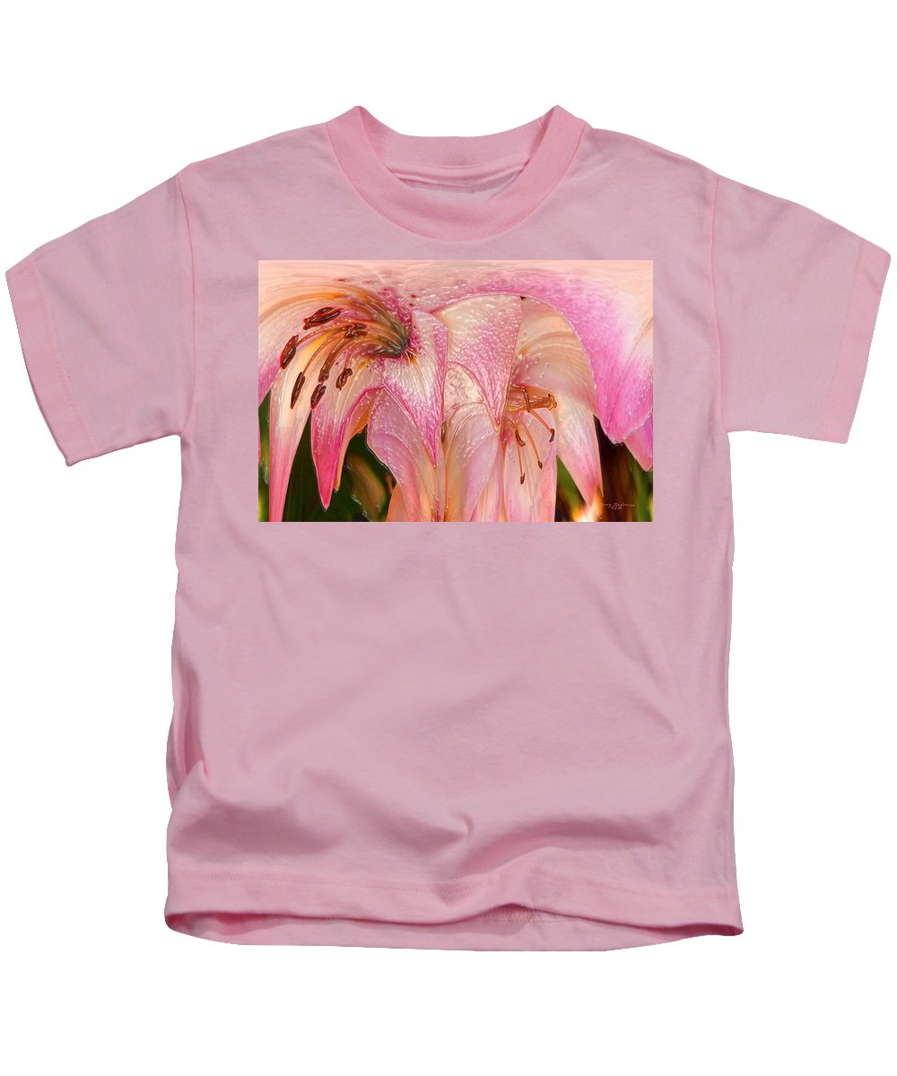 Melting Kids T-Shirt featuring the photograph Melting Lilly by Terry Anderson