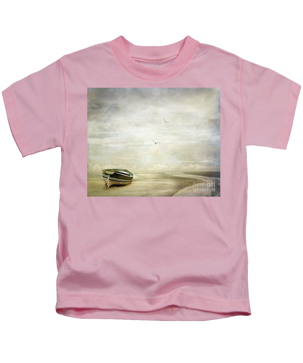 Beach Kids T-Shirt featuring the photograph Memories by Jacky Gerritsen