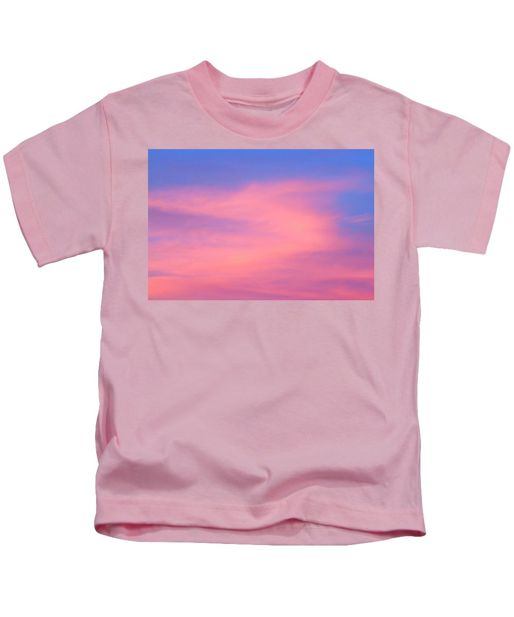 Jasper National Park Kids T-Shirt featuring the photograph Morning Clouds by Larry Ricker