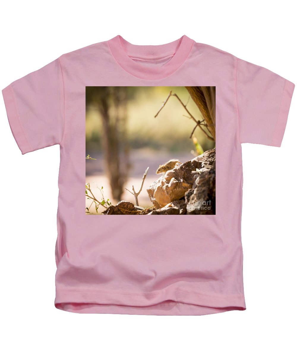 Mouse Kids T-Shirt featuring the photograph Mouse by Tim Hester
