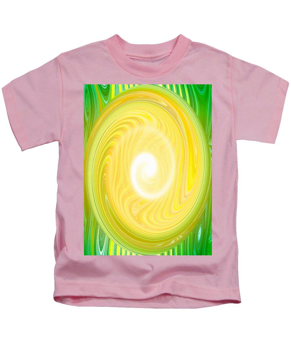 Moveonart! Global Gathering. San Francisco / New York Kids T-Shirt featuring the digital art Moveonart Bright Newness 1 by Jacob Kanduch