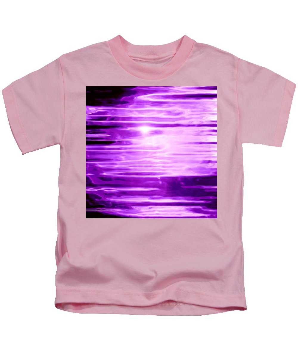 Moveonart! Digital Gallery Kids T-Shirt featuring the digital art Moveonart Dreaming More Frequently by Jacob Kanduch