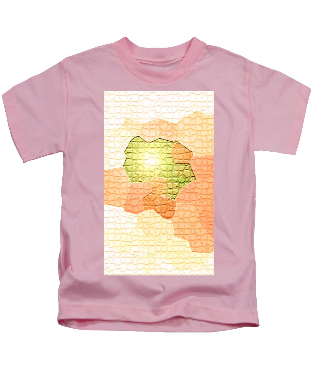 Moveonart! Digital Gallery Kids T-Shirt featuring the digital art Moveonart Youre Gonna Be Alright by Jacob Kanduch
