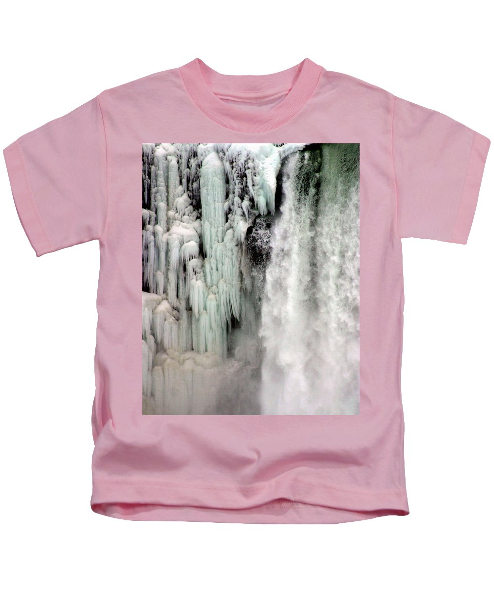 Landscape Kids T-Shirt featuring the photograph Niagara Falls 5 by Anthony Jones