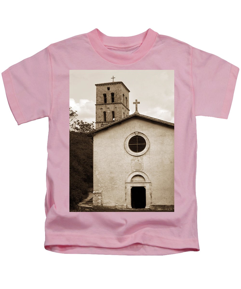 Curch Kids T-Shirt featuring the photograph Nice Old Church For Wedding by Marilyn Hunt