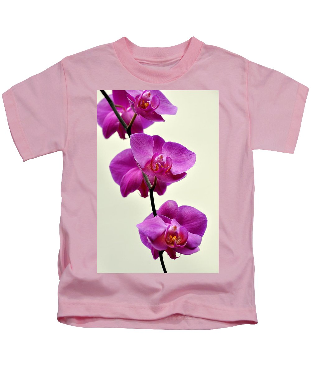 Orchid Kids T-Shirt featuring the photograph Orchid 26 by Marty Koch