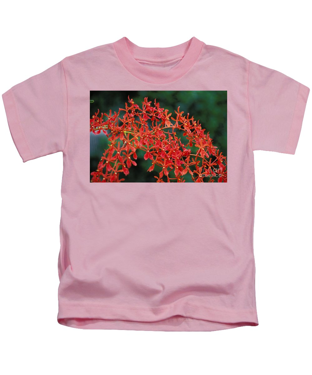 Attractive Kids T-Shirt featuring the photograph Orchids by Gloria & Richard Maschmeyer - Printscapes