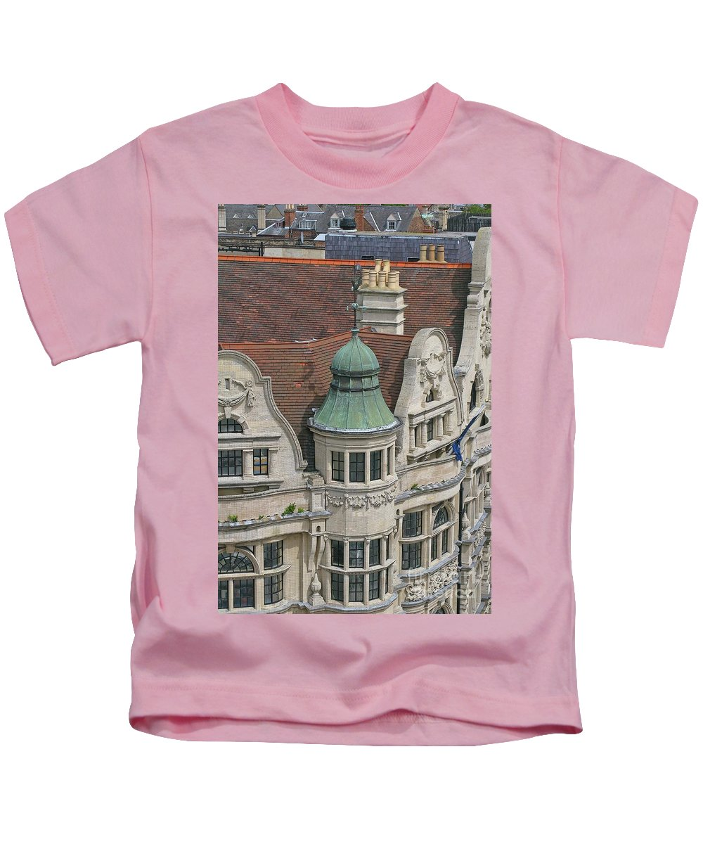 Oxford Kids T-Shirt featuring the photograph Ornately Oxford by Ann Horn