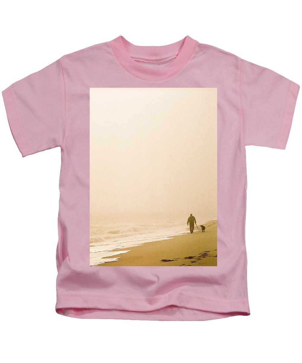 Landscape Kids T-Shirt featuring the photograph Out Of The Mist by Steve Karol