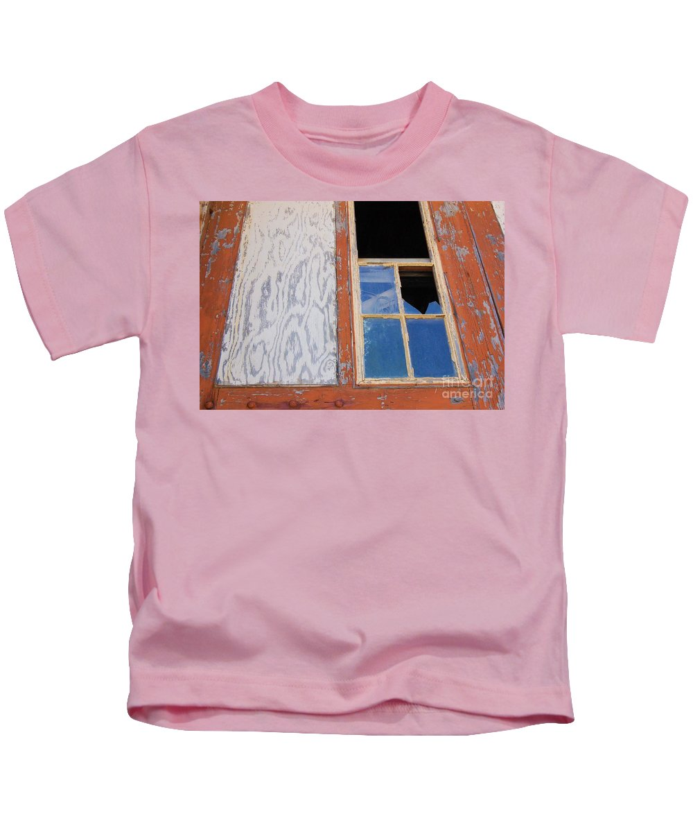 Window Kids T-Shirt featuring the photograph Painless by Debbi Granruth