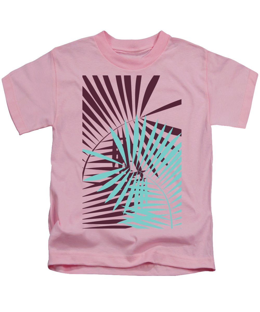 Palm Kids T-Shirt featuring the digital art Peace Of Mind by Freshinkstain