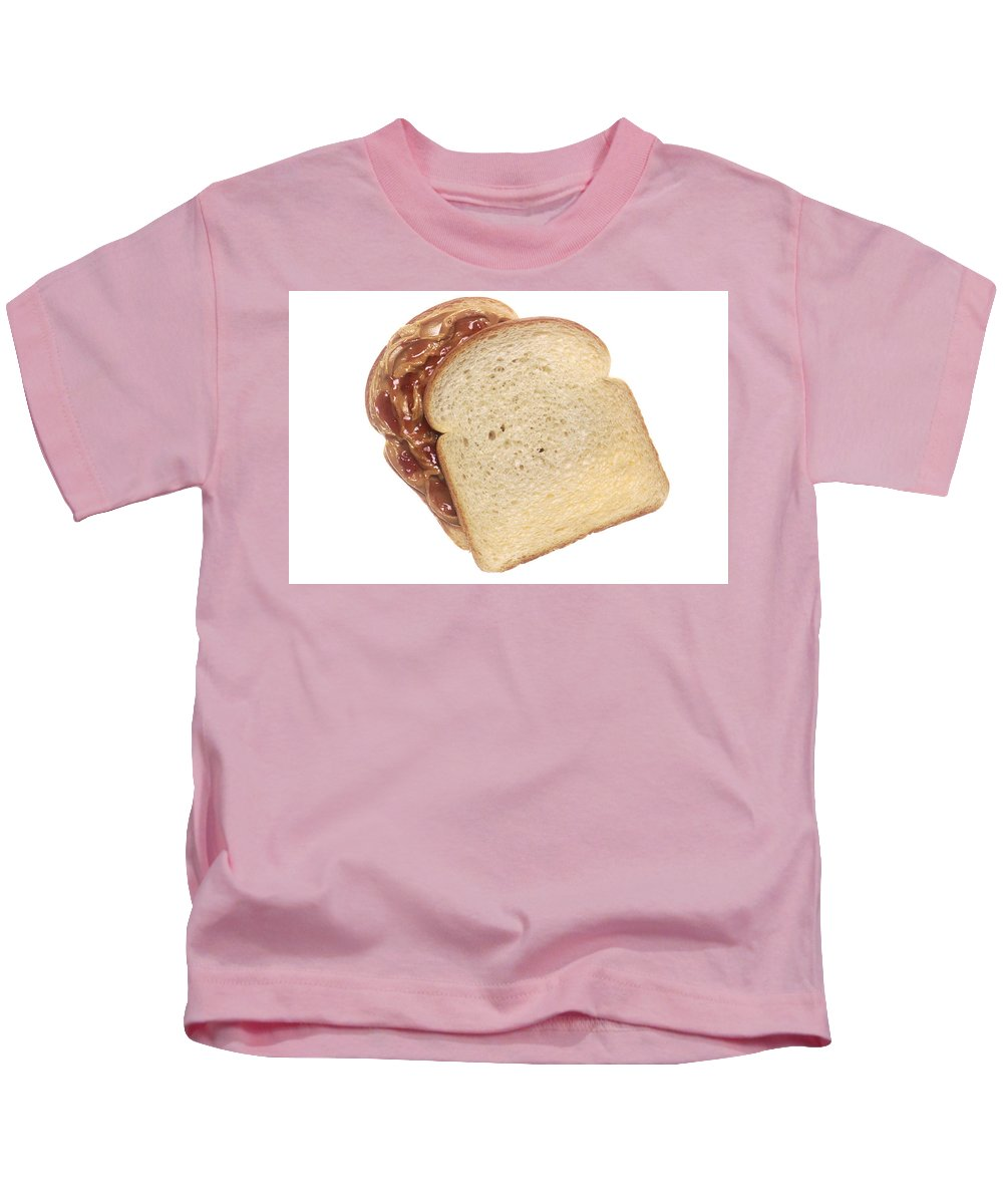 Peanut Butter And Jelly Kids T-Shirt featuring the photograph Peanut Butter And Jelly Sandwich by PhotographyAssociates