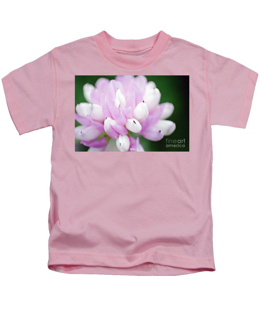 Flower Kids T-Shirt featuring the photograph Pink Flower by Eric Killian