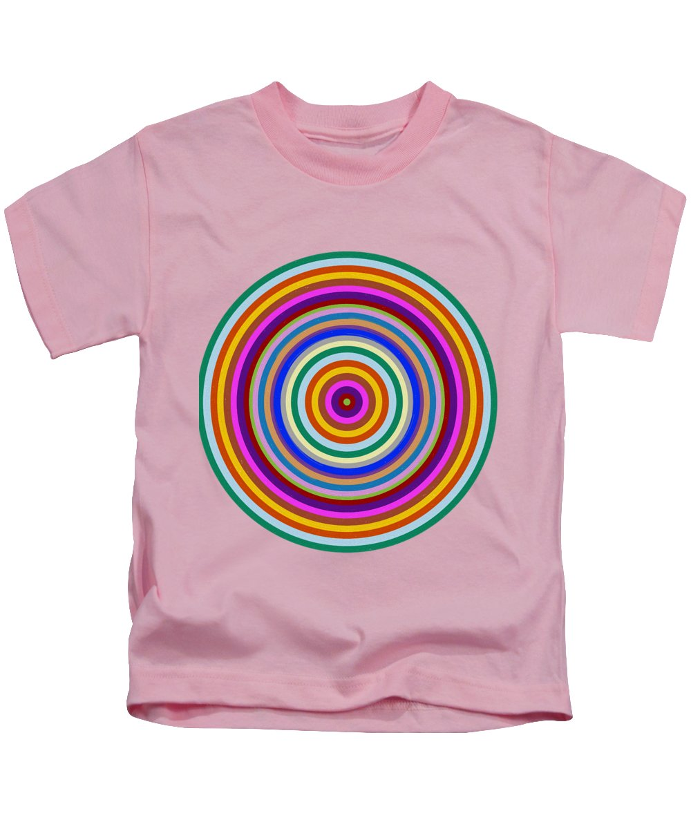 Posters Kids T-Shirt featuring the painting posters canvas Home Decor Gifts Throw Pillows Shower Curtains Duvet Covers tshirts by Navin Joshi