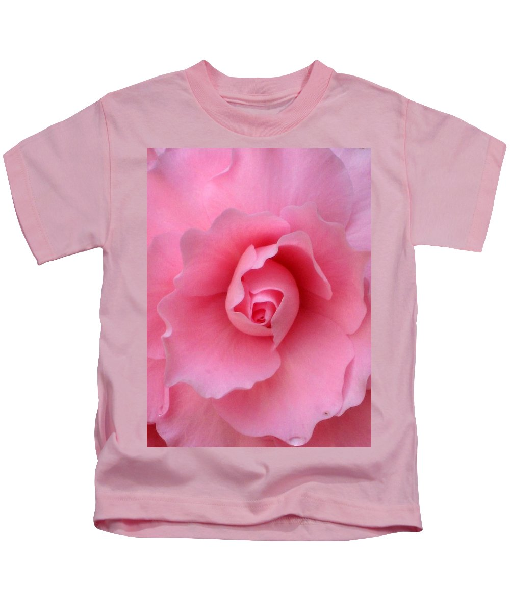 Floral Kids T-Shirt featuring the photograph Pretty In Pink by Marla McFall