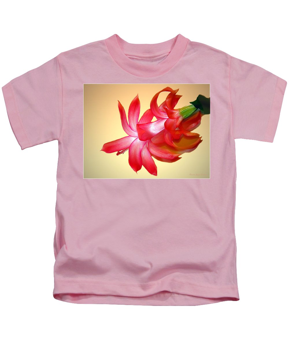 Cacti Kids T-Shirt featuring the photograph Refined Elegance 4 by Joyce Dickens
