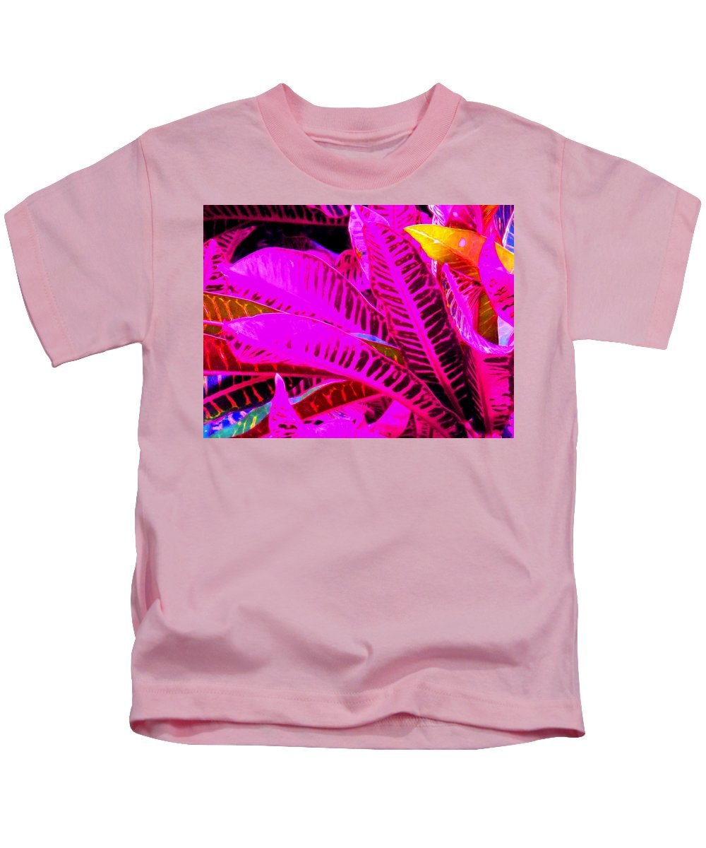 Pink Kids T-Shirt featuring the photograph Romney Pink by Ian MacDonald