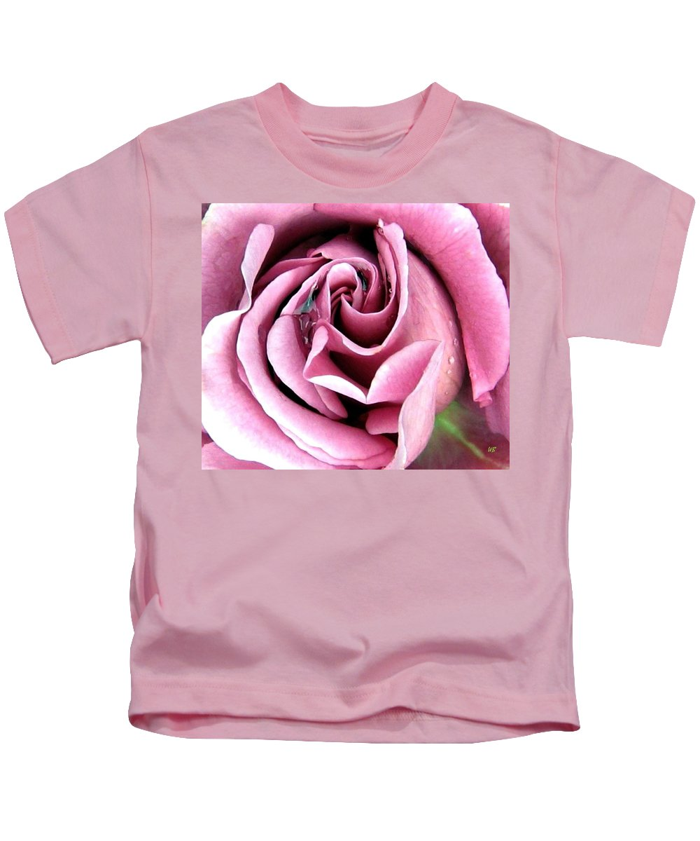 Romantic Kids T-Shirt featuring the photograph Roses Roses by Will Borden