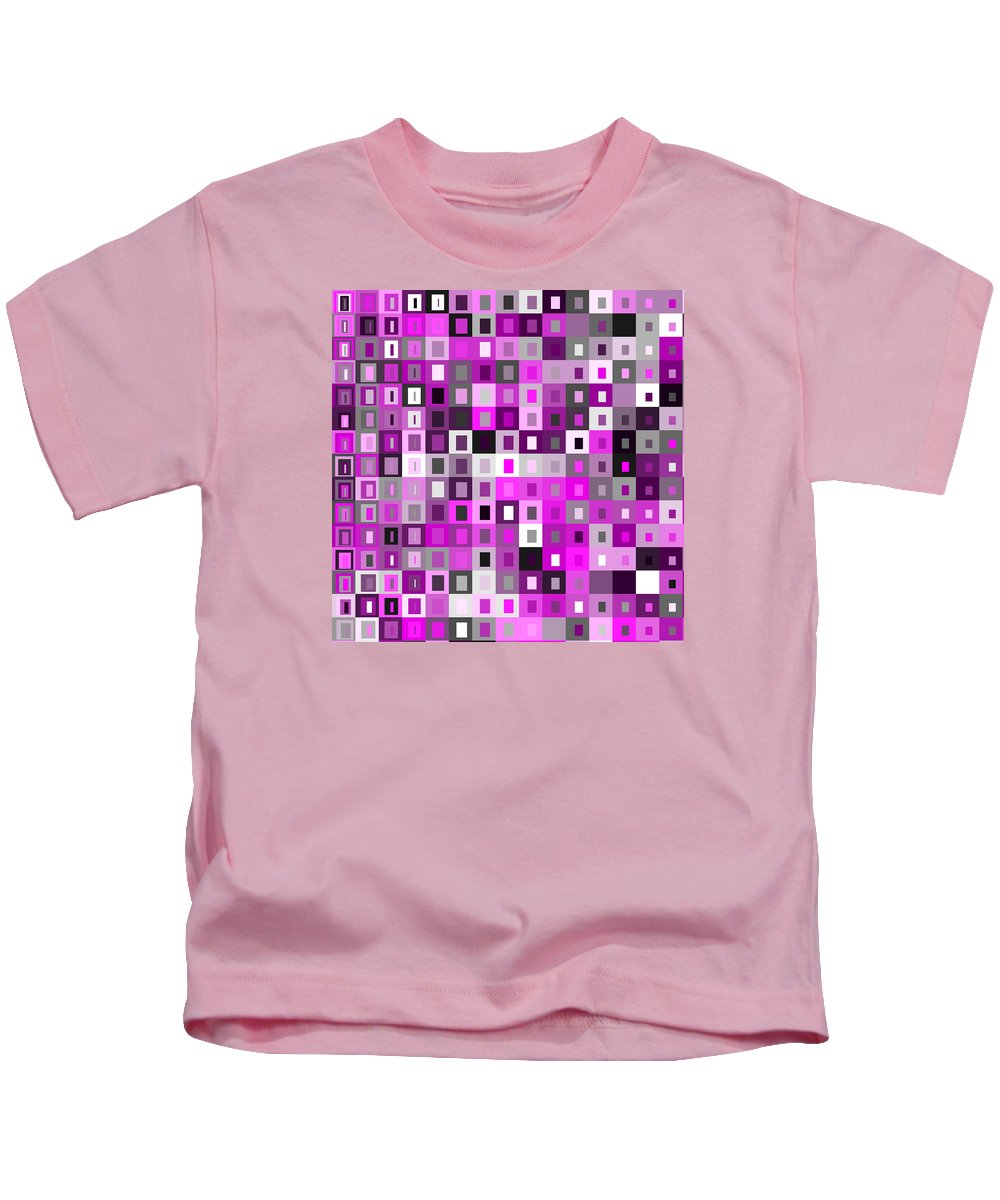 Abstract Kids T-Shirt featuring the digital art S.5.45 by Gareth Lewis