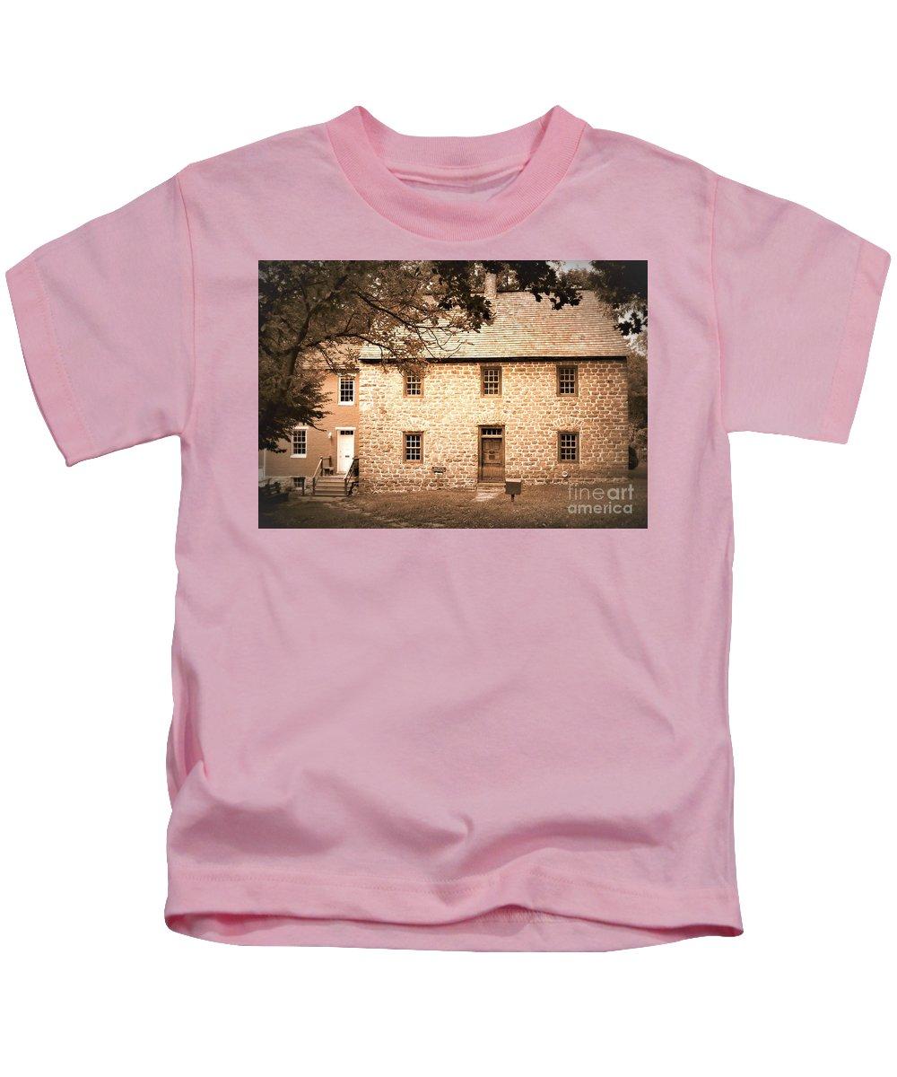 Shifferstadt Kids T-Shirt featuring the photograph Schifferstadt by Patti Whitten