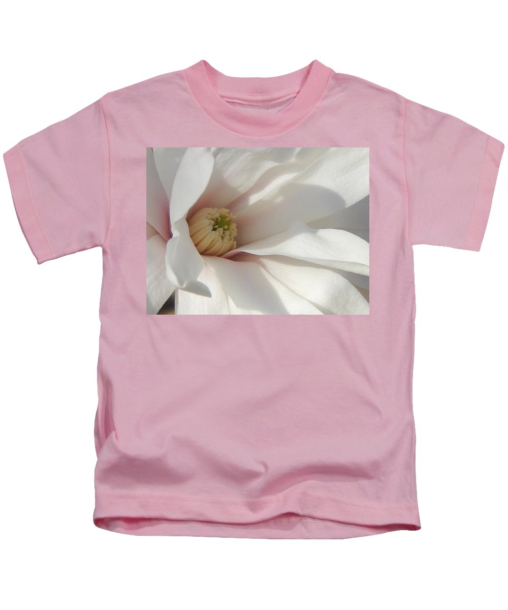 Kids T-Shirt featuring the photograph Simply White by Luciana Seymour
