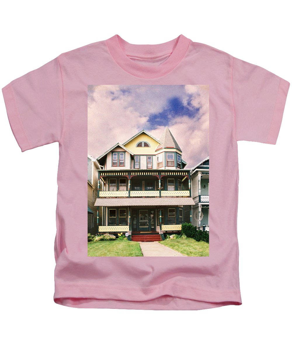 Landscape Kids T-Shirt featuring the photograph Sisters panel three of Triptych by Steve Karol