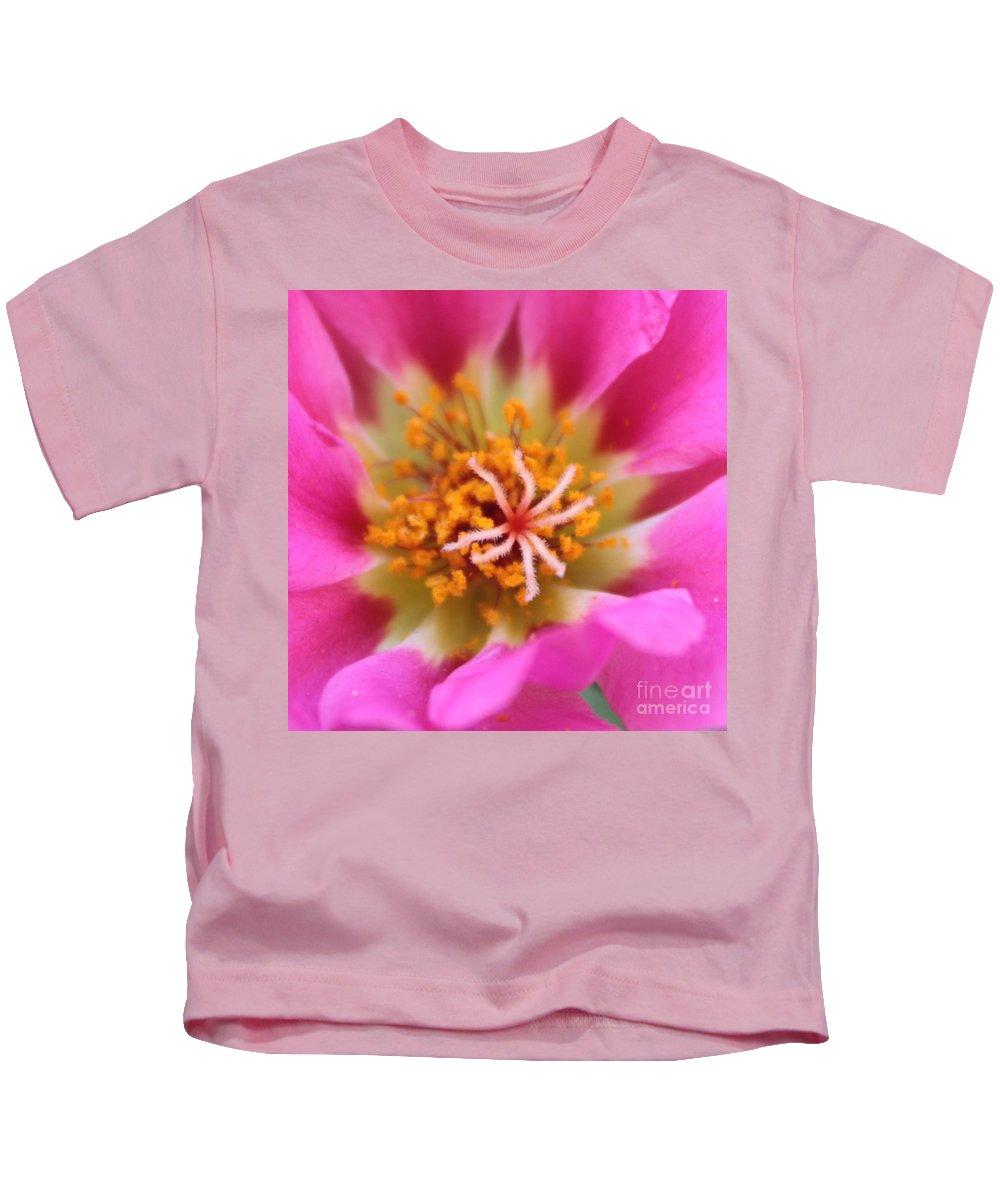 Macro Kids T-Shirt featuring the photograph Summer Sass by Carol Groenen