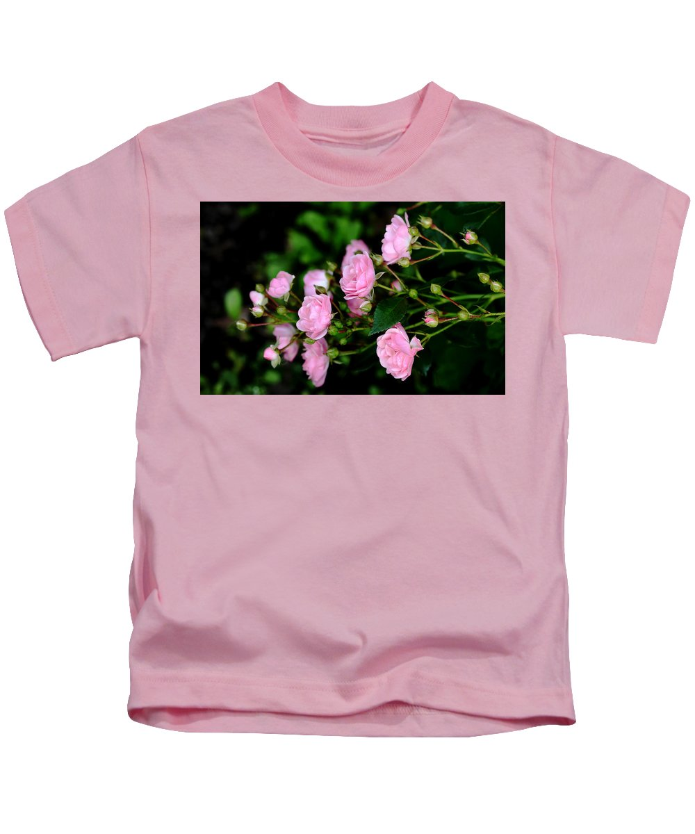 Fairy Roses Kids T-Shirt featuring the photograph The Fairy by Debbie Oppermann