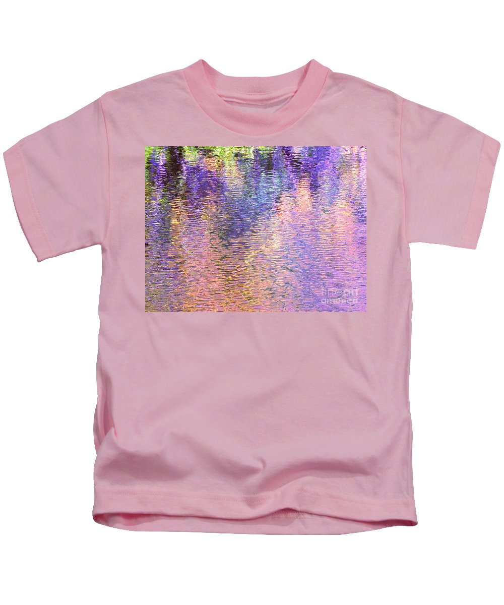 Abstract Kids T-Shirt featuring the photograph The Full Experience by Sybil Staples