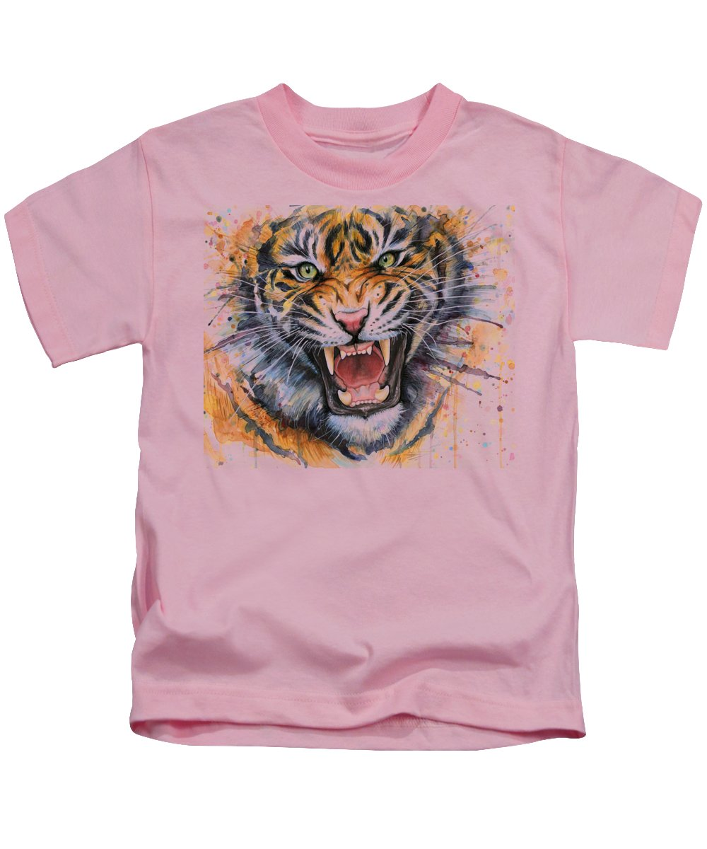 Angry Paintings Kids T-Shirts
