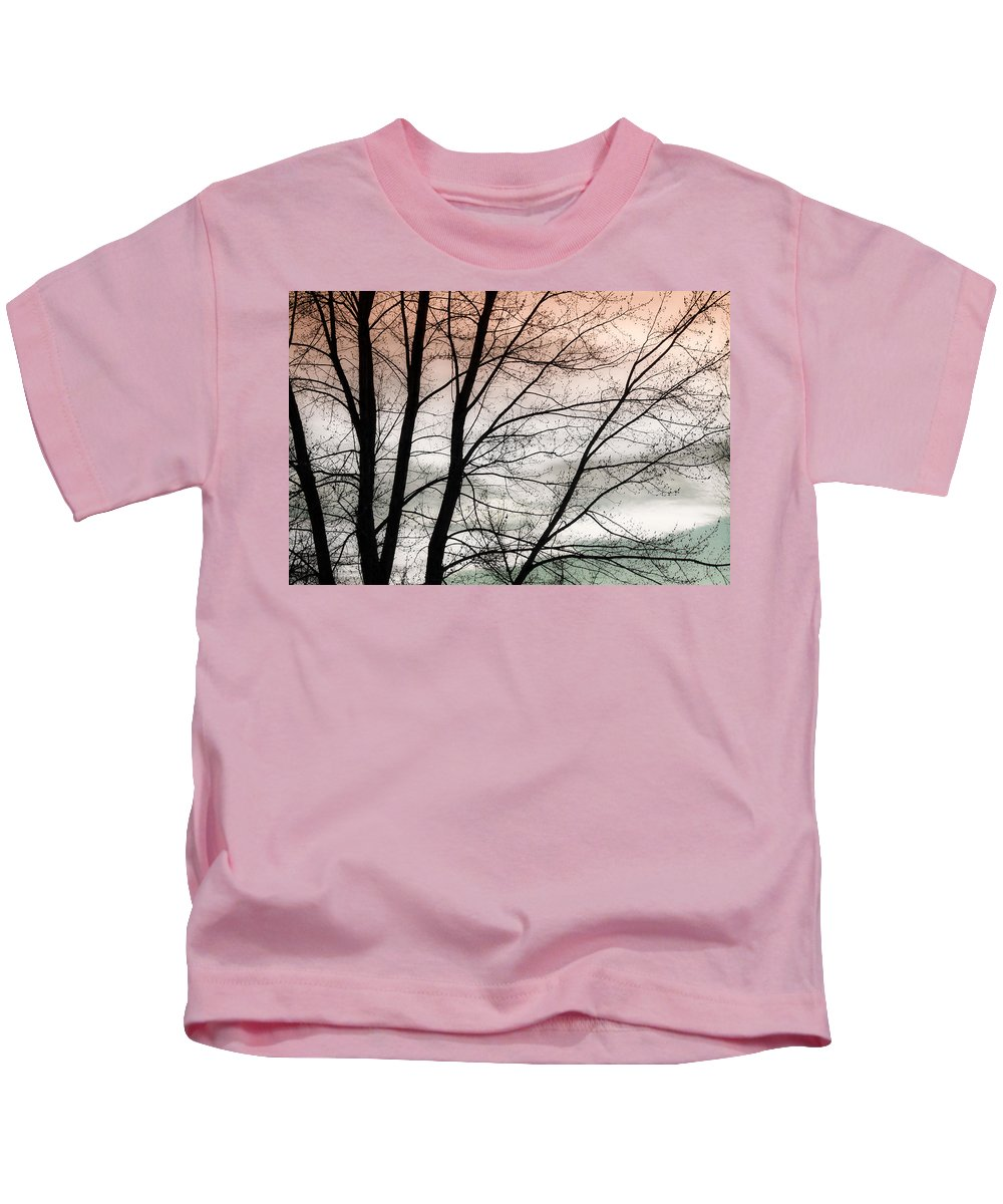 canvas Print Kids T-Shirt featuring the photograph Tree Branches by James BO Insogna