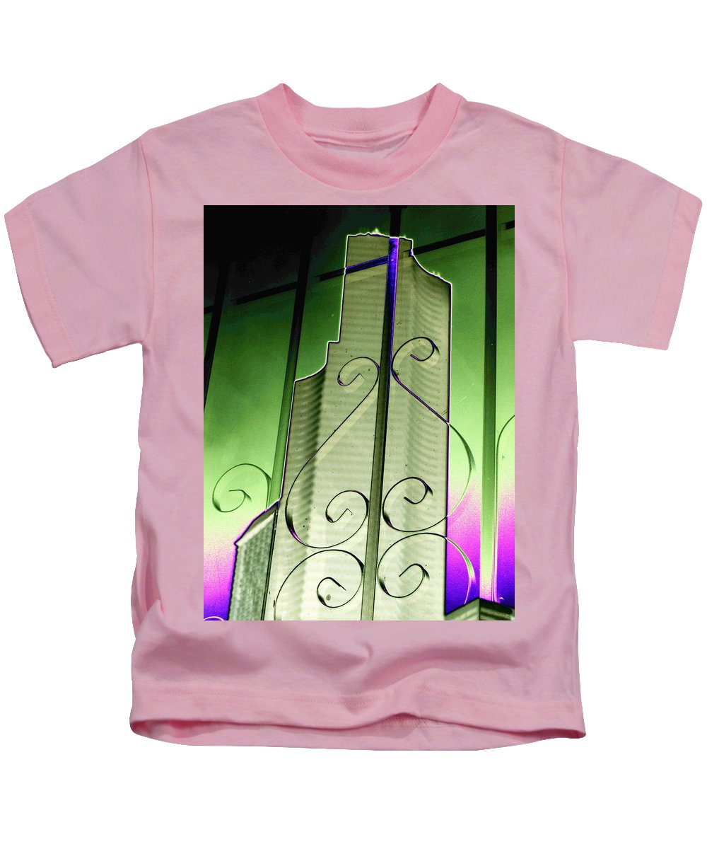 Seattle Kids T-Shirt featuring the photograph Urban Reflection 2 by Tim Allen