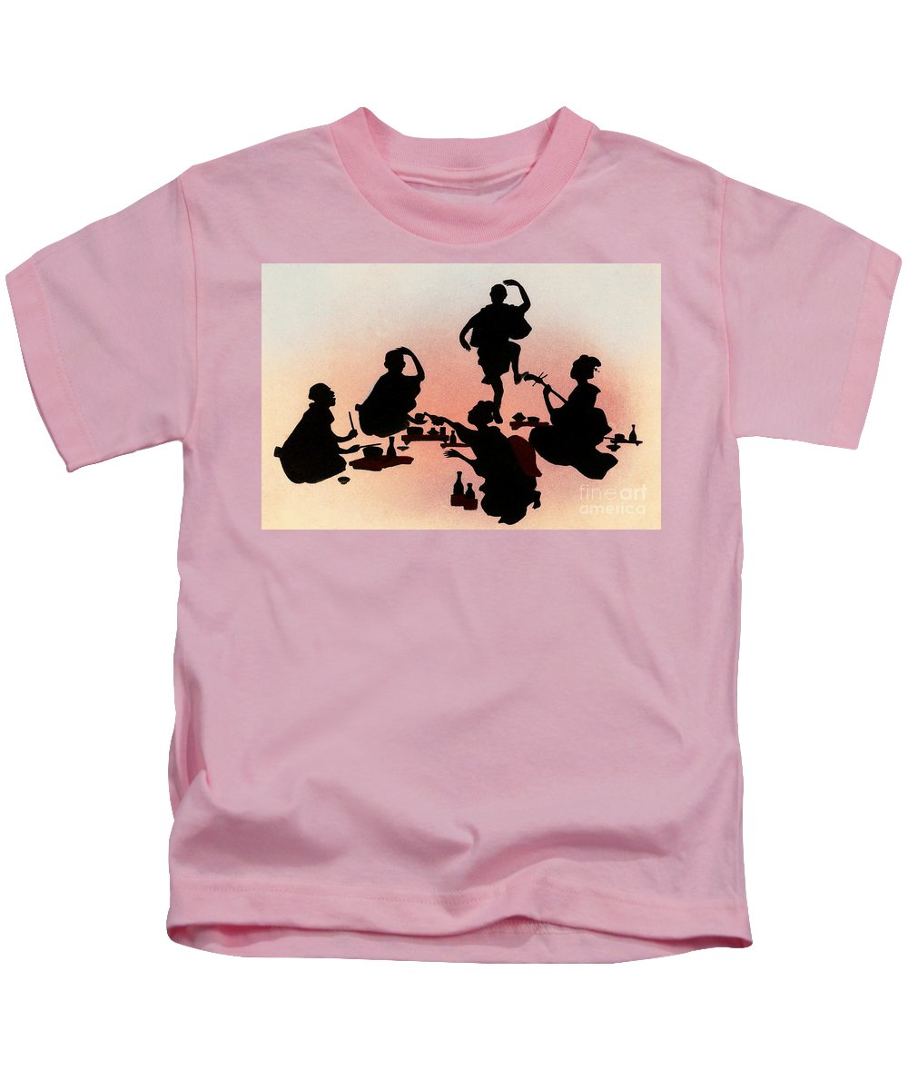 Archival Kids T-Shirt featuring the painting Vintage Japanese Art 28 by Hawaiian Legacy Archive - Printscapes