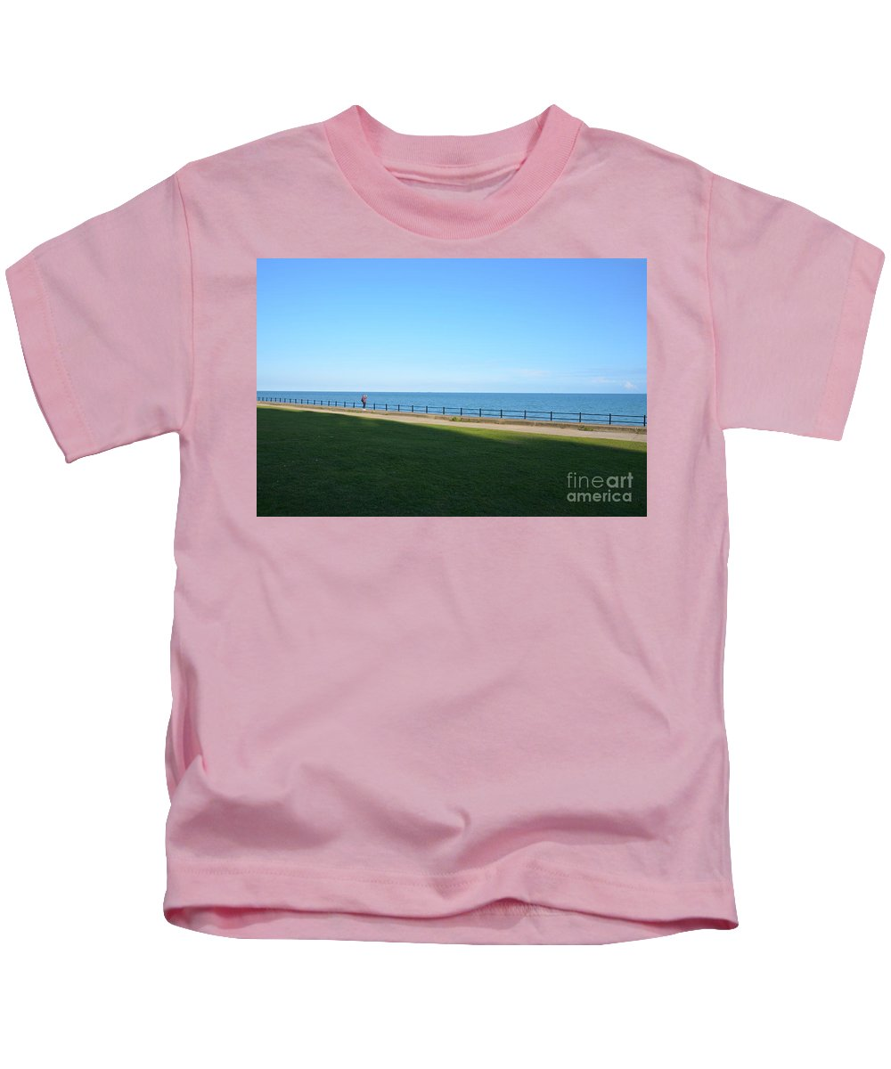 You'll Never Walk Alone Kids T-Shirt featuring the photograph You'll Never Walk Alone by Des Marquardt