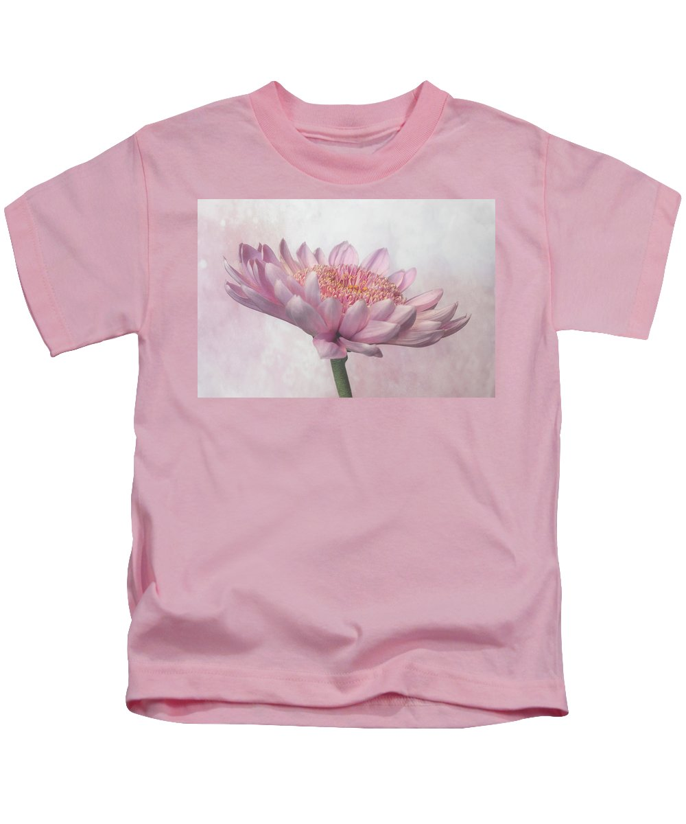 Flower Kids T-Shirt featuring the photograph Pretty In Pink by Sandi Kroll