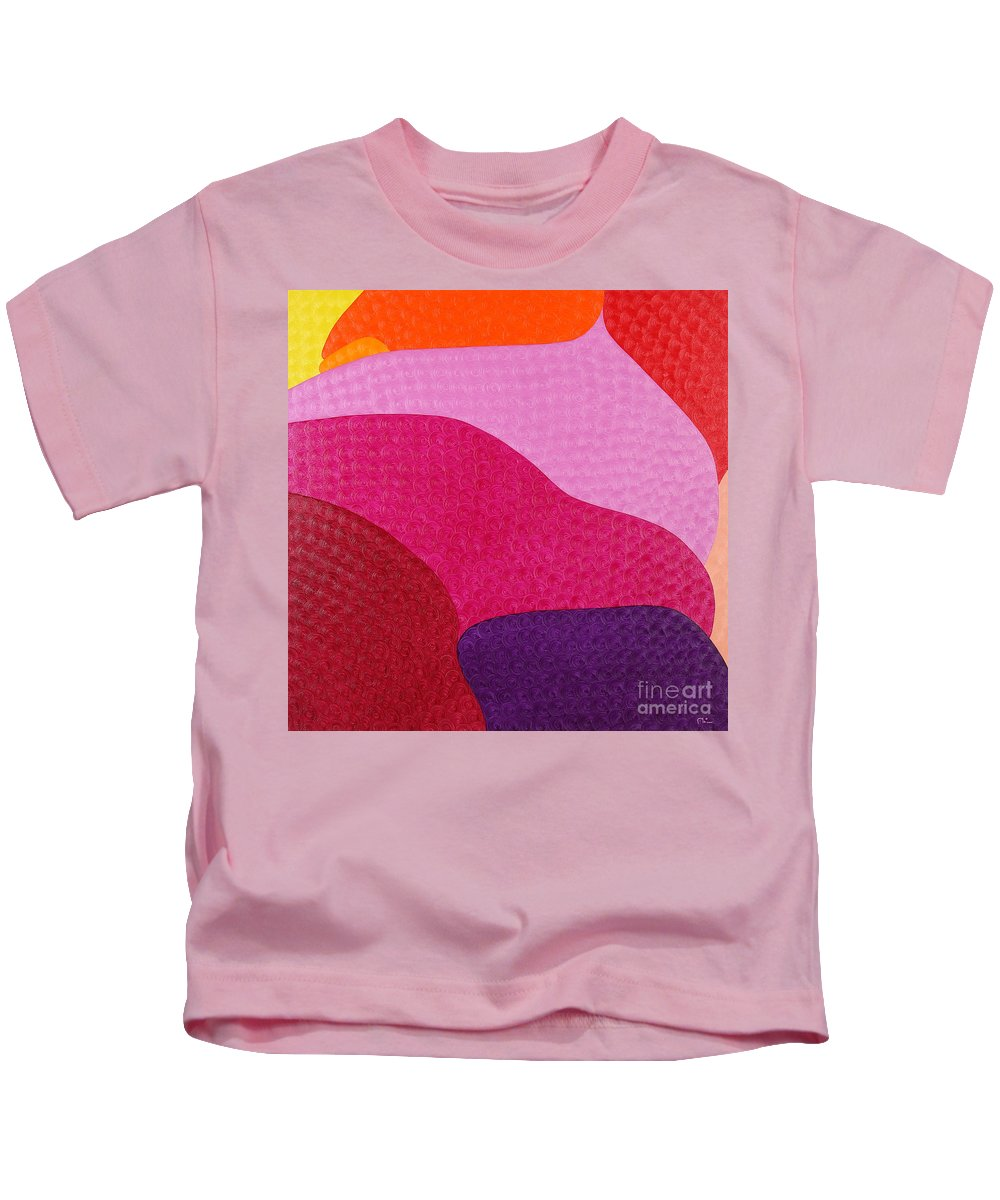 Body Kids T-Shirt featuring the painting Belly by Natalia Lvova