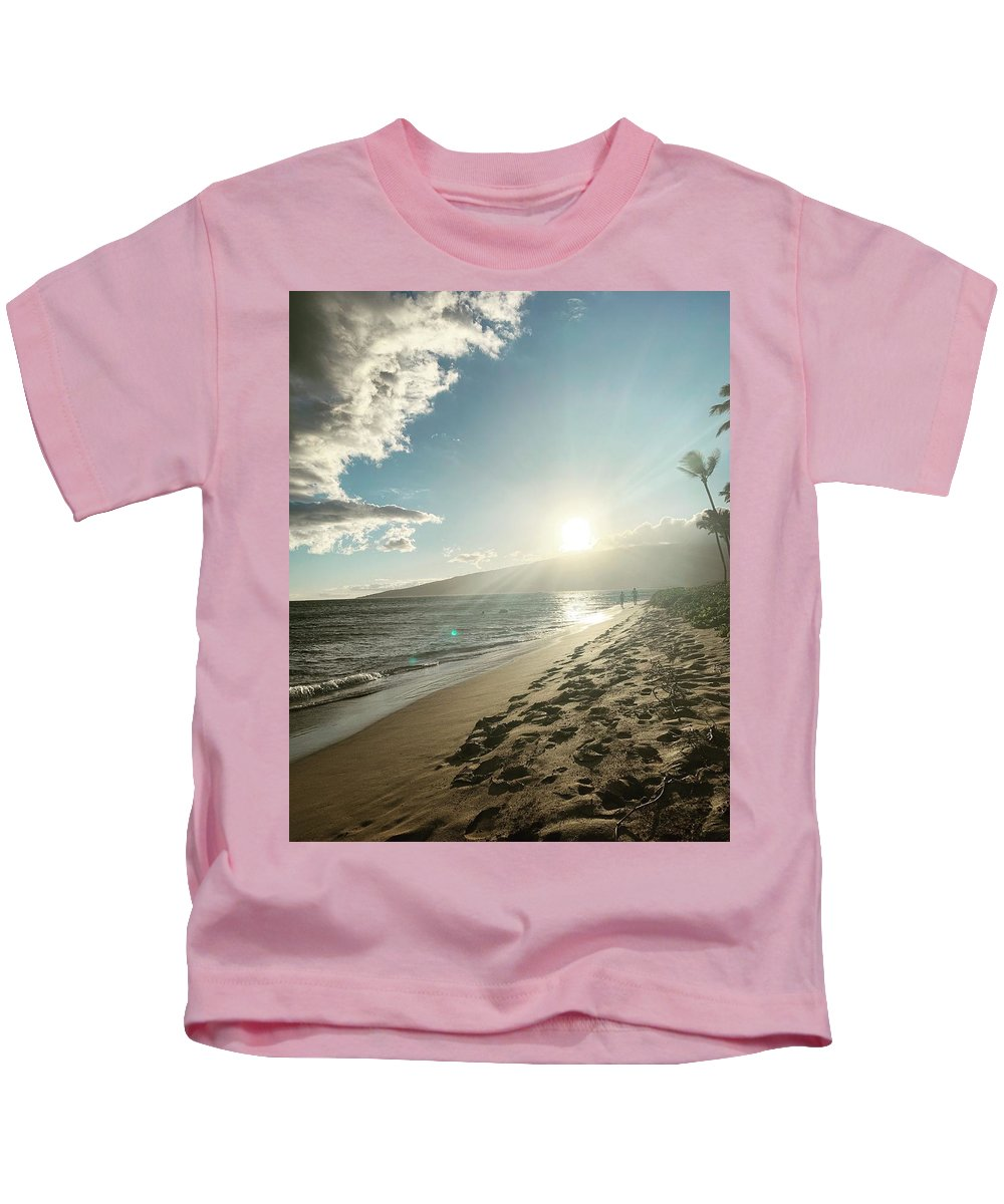 Hawaii Kids T-Shirt featuring the photograph Maui by Kristin Rogers