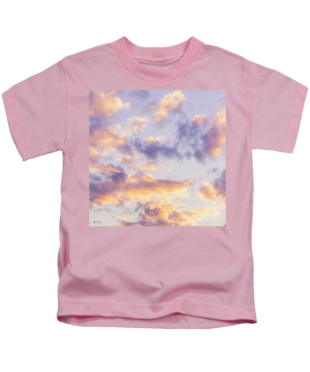 Pastel Kids T-Shirt featuring the photograph Pastel Cloudscape by Jorgo Photography - Wall Art Gallery